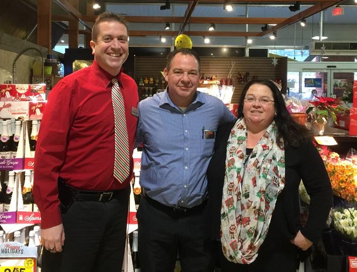Bob McNally, Jon Smith And Laura Langans At Giant Store 6477 In Frazer, PA
