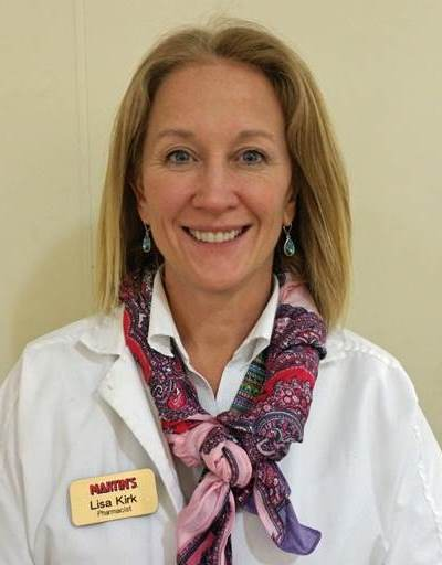Lisa Kirk, Pharmacist, Store #6425, Rising Sun, MD