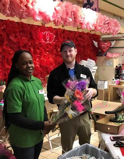 Produce Manager Ryan Moore And Cashier Tash Harris, Store #6329, Lansdowne, PA
