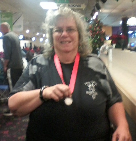 Congratulations To Pat, A Front End Associate At The North Wales, PA, Giant, For The Silver Medal She Won At A Local Special Olympics Bowling Event