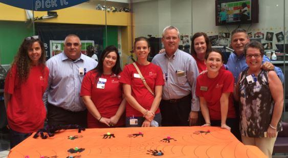 Nine Managers, DCT And Hourly Associates From District #132 Took Part In A Fall-themed Arts And Crafts Festival For Patients Of The Children's Hospital Of Philadelphia