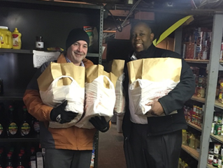 District #135 Donated Hams For Easter