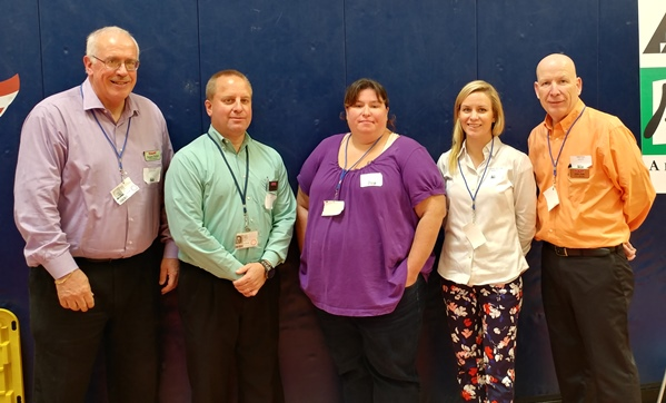 District #142 Leaders Support Junior Achievement At Red Land High School