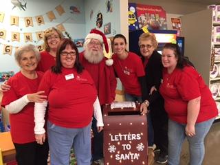 Santa Shops At Store #6332 In Lewisburg, Pa