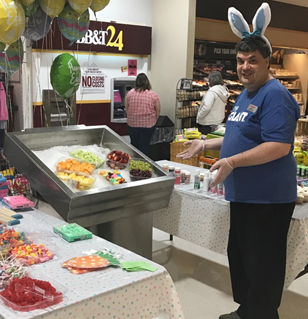 Store 6320 In Lehighton, PA, Had An Eggcellent Easter With Games And Store Displays!