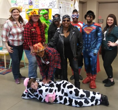 The Brookhaven, PA, Giant Team Had A Ball With Their Trick Or Treat Event
