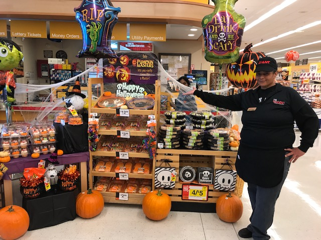 The Fairless Hills, PA, Giant Is Ready For Halloween