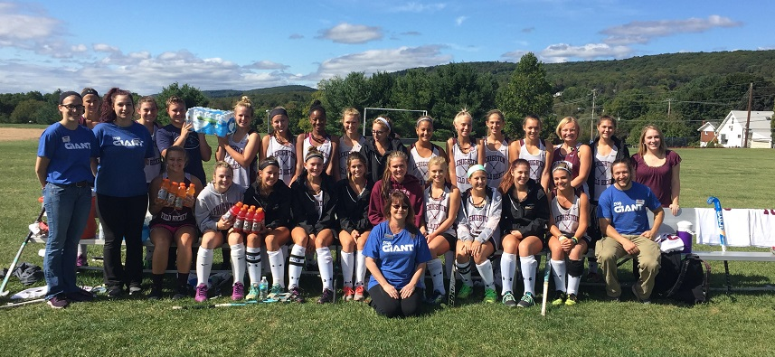 The Lehighton, PA, Giant Gave Water And Gatorade To The Local Field Hockey Team, Because We're A Better Neighbor!