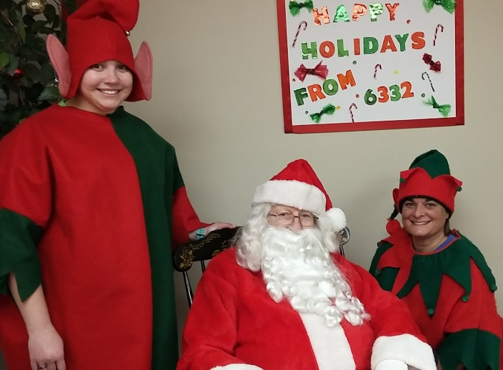 The Lewisburg, PA, Giant Store 6332 Hosted Special Guests Santa And His Elves