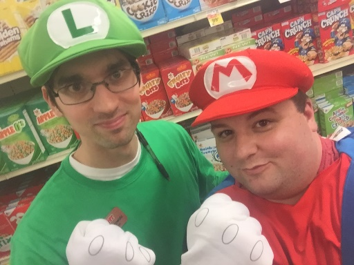 The Mario Brothers Stopped By The New Hope, PA, Giant To Showcase Their Outstanding Customer Service