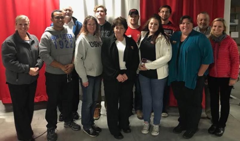 The Rising Stars From District #142 Toured The Vantage Meat Facility And Held An Award Presentation For Recent Promotions And Enjoyed Lunch Together