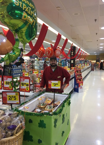 Warminster, PA, Giant #6257 Is Ready For St. Patrick's Day