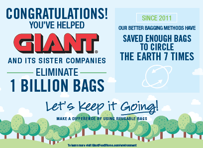 Celebrate The Billion Bag Reduction!