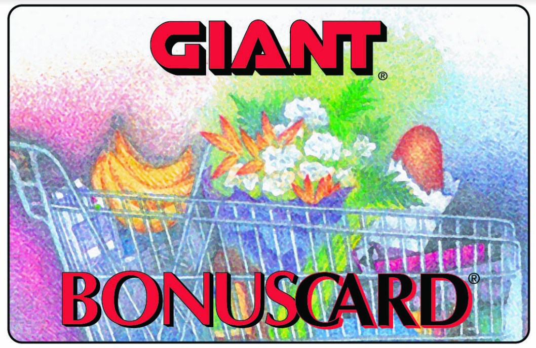 Giant/Martin's Bonus Card
