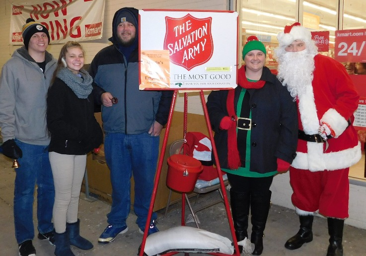 Altoona Martin's Raises Funds For The Salvation Army At Christmas