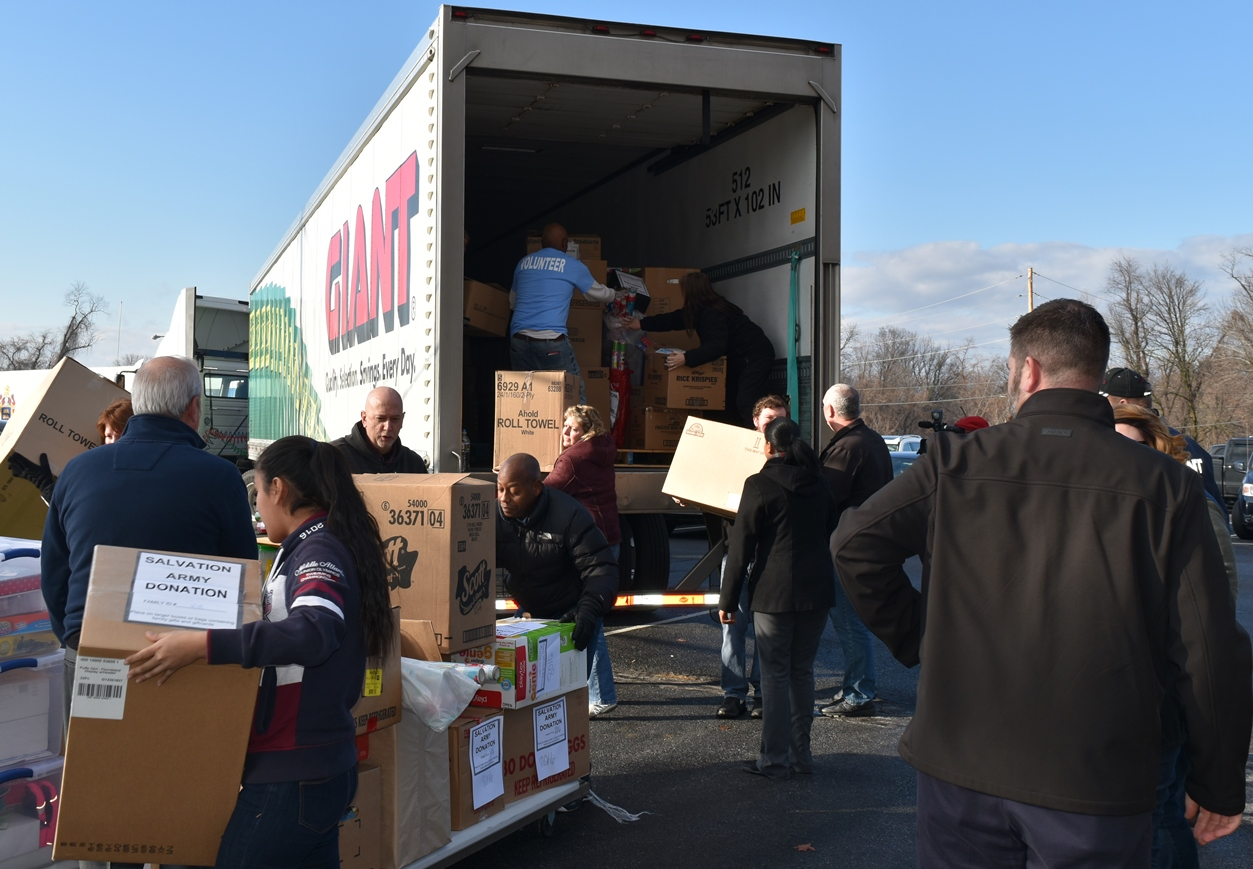 Giving Holiday Cheer To Families In Need