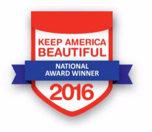 Honored For Keeping America Beautiful