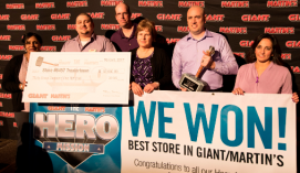 Congratulations to Trexlertown, PA, Store #6457 who was named our top Hero Store