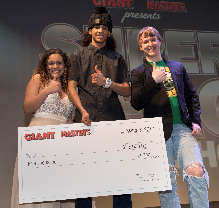 Our Top Three Talent Contest Winners Are Cristian Medina In First Place, Dalton Condon In Second And Samantha Kough In Third