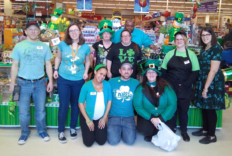 Store #6011 In Plymouth Meeting, PA, Celebrate The Luck Of The Irish