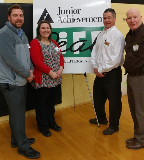 Store Management Team Members Encourage High School Associates At The Biglerville Junior Achievement Event