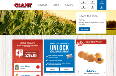 Giant And Martin's Websites Get A Great New Look