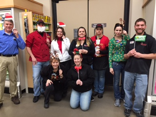 Merry Christmas From Store #6332 In Lewisburg, PA