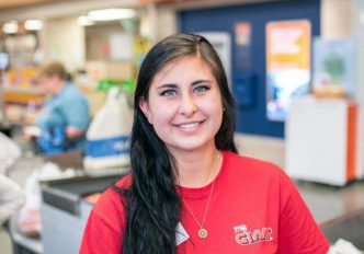 Smiling Associate