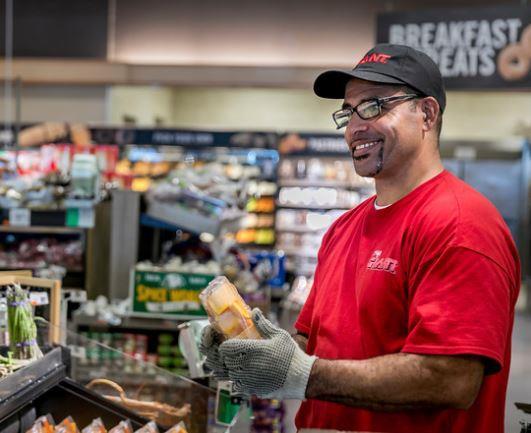 Smiling Produce Guy