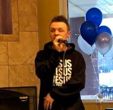 Chad Holmes Performs At MARTIN'S Store 6426 In Staunton, VA