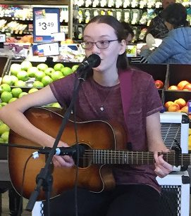 Mackenzie L Takes First Place At Dubois, PA, MARTIN'S Store 6325