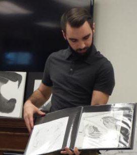 Trevor At Ephrata, PA, 6501 Puts His Artwork On Display