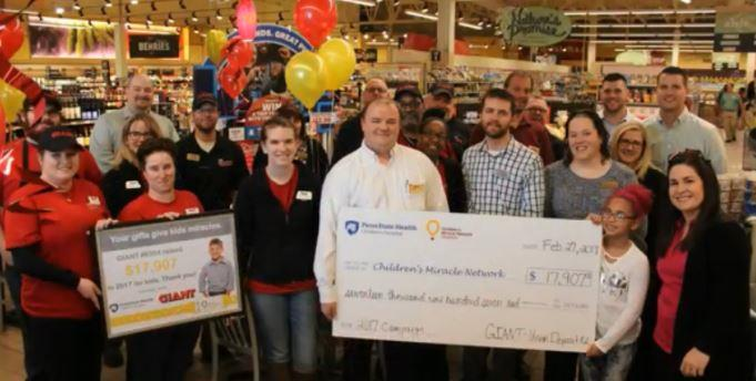 Harrisburg GIANT Stands Tall For CMN