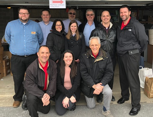 The District  #135 Support Team And Store Managers Were Better Neighbors By Supporting An Easter Ham Drive Sponsored By St. Agnes Church In West Chester, PA
